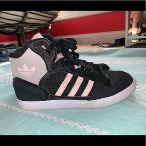 Adidas High Top Sneakers Size 7.5